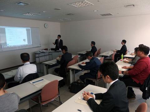 岐阜県産業経済振興センター BtoB事業者のためのネット活用セミナー風景