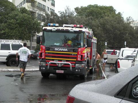 かっこいい 消防車!