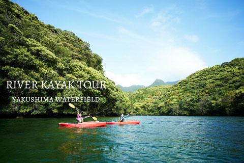 屋久島リバーカヤックツアー,半日ツアー,半日過ごし方,屋久島カヌー,川遊び