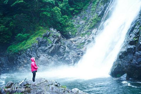 大川の滝,屋久島の滝,名瀑,屋久島ナイトツアー,キャンプ