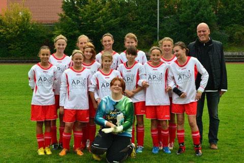 Mannschaftsfoto am 21.9.2013 (Spiel gegen Attenkirchen)