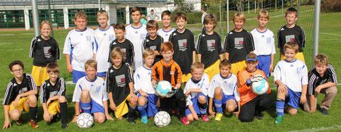 Gesamtkader der D-Junioren in der Saison 2013/14