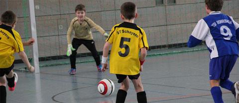 Marc erzielt das Goldene Tor gegen Rohrbach