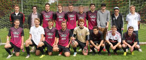A-Junioren: für einige das letzte Spiel im Jugendfußball - Danke an die Trainer Flo und Philipp