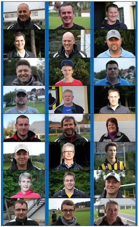es fehlen: Thomas Sterr und Arved Jacobs