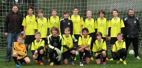 Mannschaftsfoto vom Spiel gegen Geroldshausen