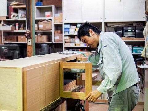 山本木工所で働く人たち2