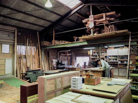 山本木工所での業務内容