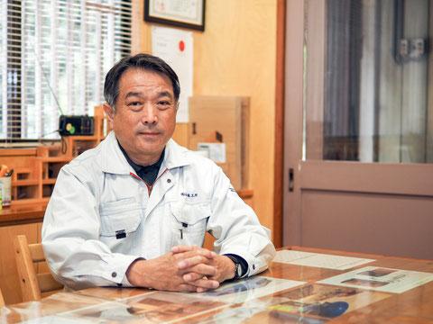 山本木工所 代表取締役 山本和彦