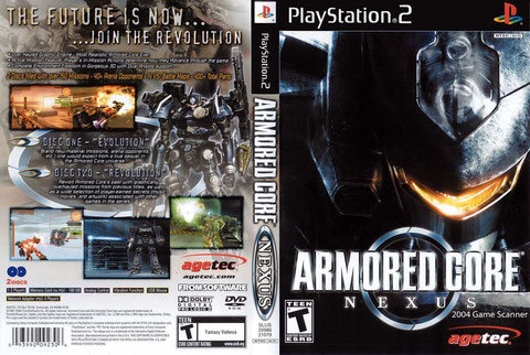 ARMORED CORE NEXUS 2 DVD