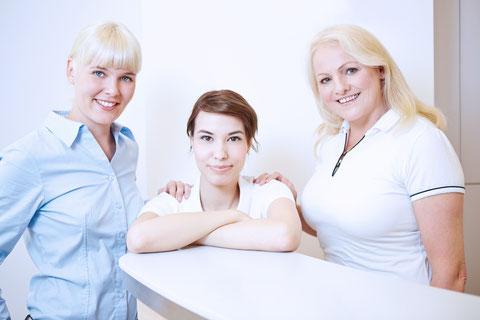 Rosa Müller, Tanja Schüler, Claudia Birg