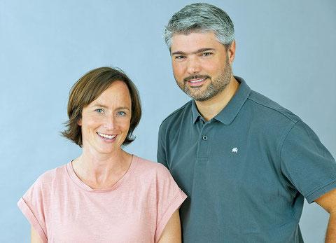 Dr. Celia Speth und Dr. Julius Wiegele