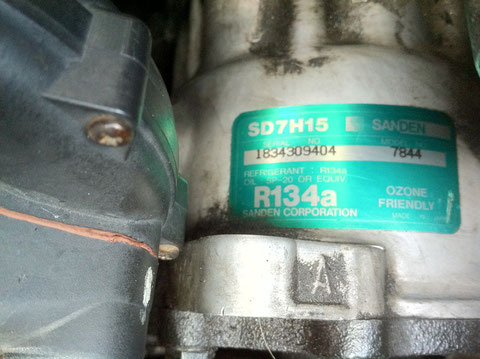 456GT-コンプレッサー死亡