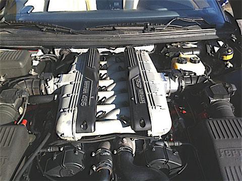 456GT-初馬号−エンジン清掃