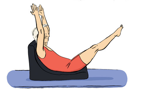 formation Stott Pilates matwork intermédiaire