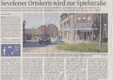 Rheinische Post vom 16.04.2015. Zum Vergrößern Bild anklicken.