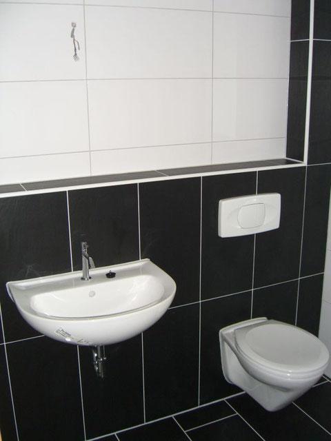grosses Gäste-WC auf der Wohnebene
