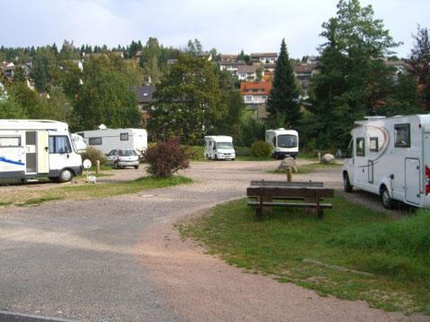 Stellplatz Unterkirnach
