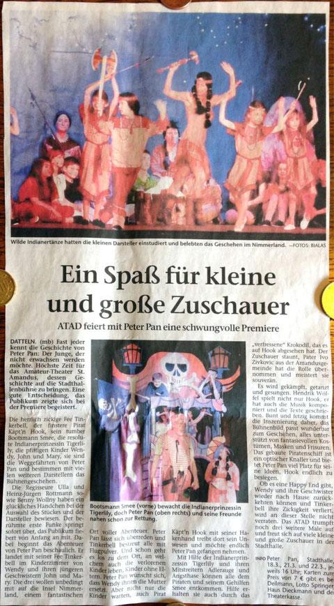 Dattelner Morgenpost 16.3.2015