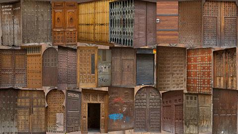 Les portes de la vielle ville