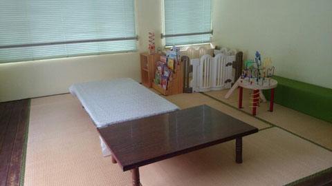 2階は 子供の待合室