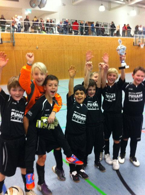 Turniersieg am 13.01.2013 beim SC Rheindahlen