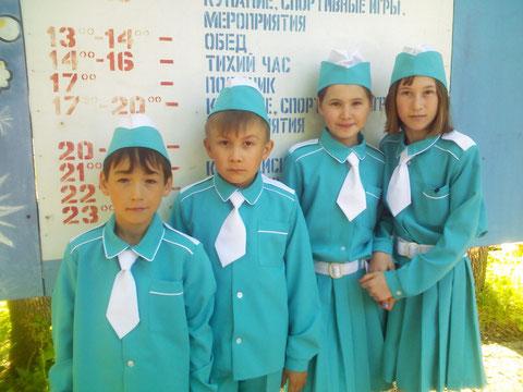 """Участники конкурса """"Безопасное колесо"""""""