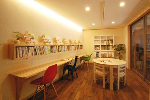 木の家づくり情報館・図書館木かげ