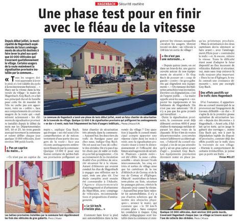 L'Alsace du 28 juillet 2019 + photos