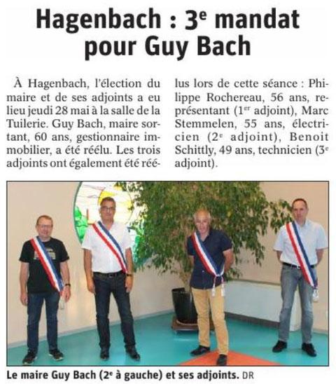 L'Alsace du 31  mai 2020