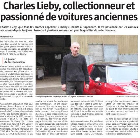 Journal l'Alsace du 13/02/2017 - Clic pour voir des photos