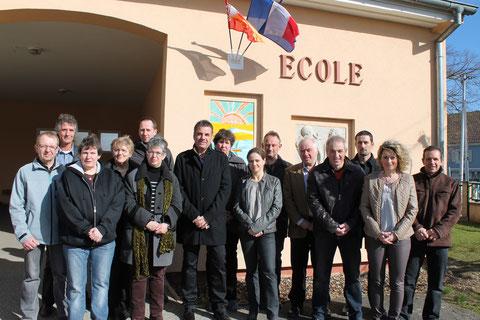 L'Equipe Municipale de Hagenbach - 2014