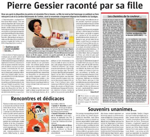 L'Alsace du 27 novembre