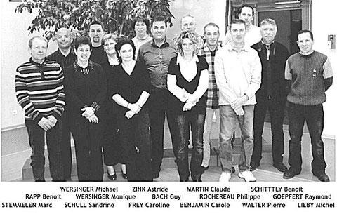 Equipe municipale Hagenbach
