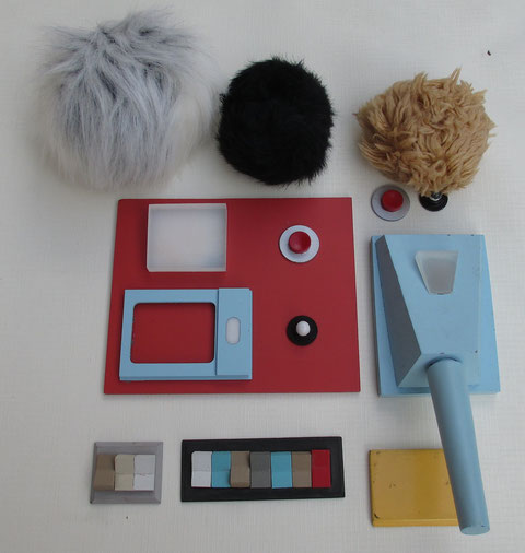 Star trek DS9 : Trial and Tribble-Ations props