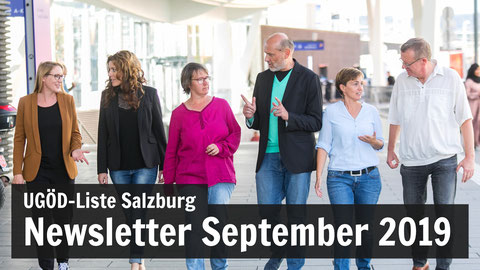 UGÖD-Liste Salzburg - Newsletter September 2019