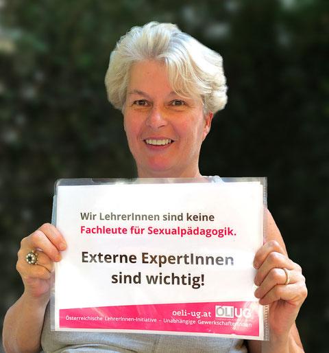 Uschi Göltl (ÖLI-UG) wehrt sich gegen Bevormundung und Rückschritte in der Pädagogik.