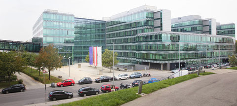 Das Hauptgebäude der Statistik Austria in Wien.