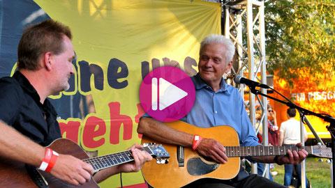 Reinhart Sellner Duo Live 2021. Auf das Bild klicken, um das Video auf Youtube abzuspielen
