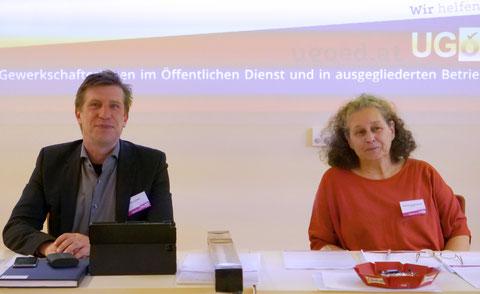 Manfred Walter und Beate Neunteufel-Zechner
