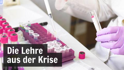 Blutproben im Labor