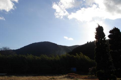 こんな晴れた日でも、ひらひらとふっかけが降りてきます