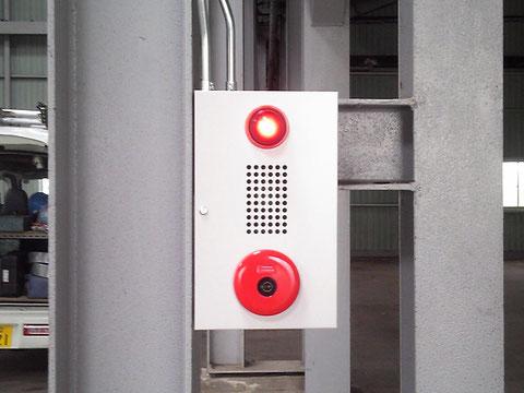 検出器を収納する場合は大きめの露出ボックス