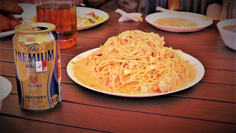 よく分からないが凄い美味しかったスパゲティ…。🍝
