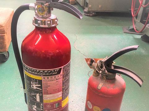 蓄圧式消火器の外観点検は簡単