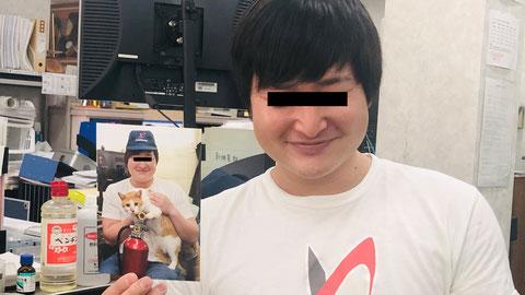写真のデブと全く同じ顔の山田バイト