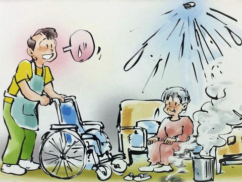 老人ホーム等はスプリンクラーの設置義務