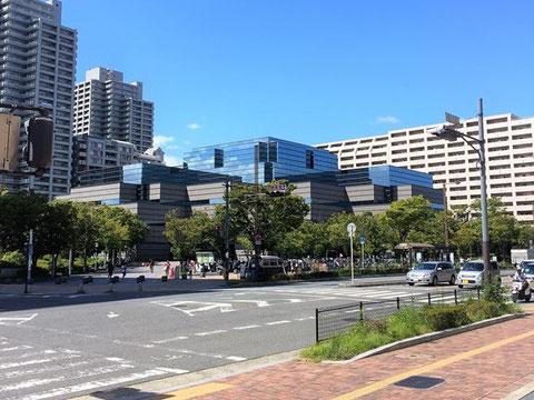 大阪府立中央図書館はエヴァ