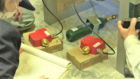加圧用ガスボンベ ハロン 消防検査