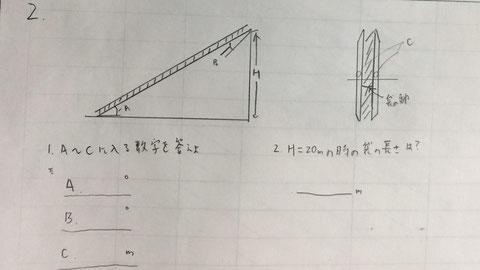 斜行式救助袋の器具寸法問題